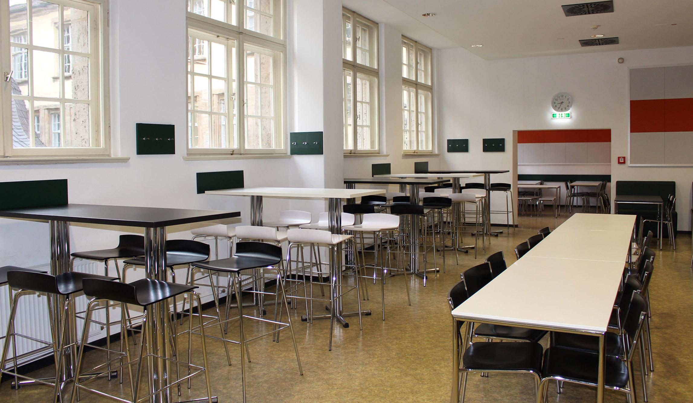 Cafeteria Uni Hauptgebäude   Studierendenwerk Thüringen
